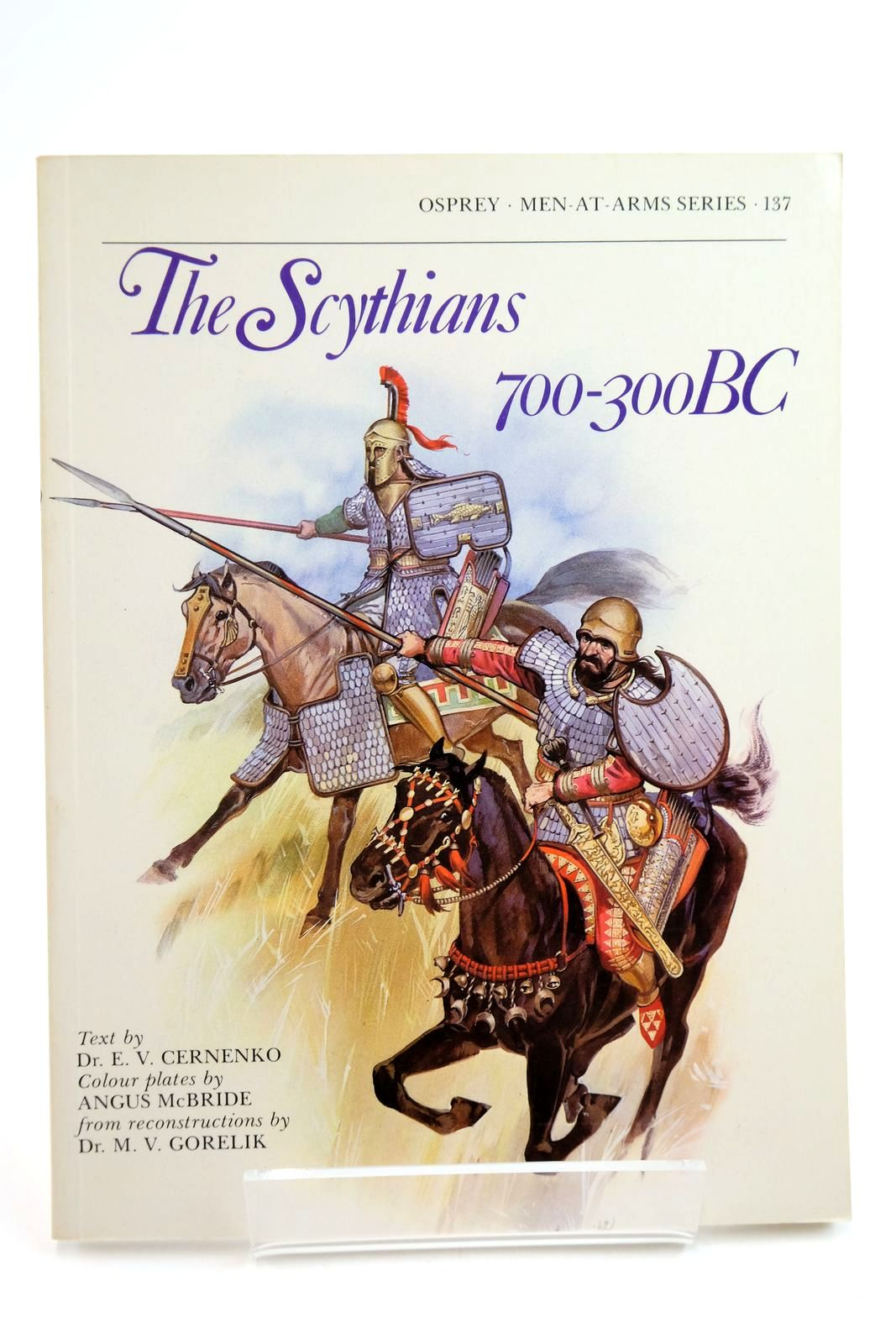 Photo of THE SCYTHIANS 700-300 BC (MEN-AT-ARMS) written by Cernenko, E.V. illustrated by McBride, Angus published by Osprey Publishing (STOCK CODE: 2134758)  for sale by Stella & Rose's Books