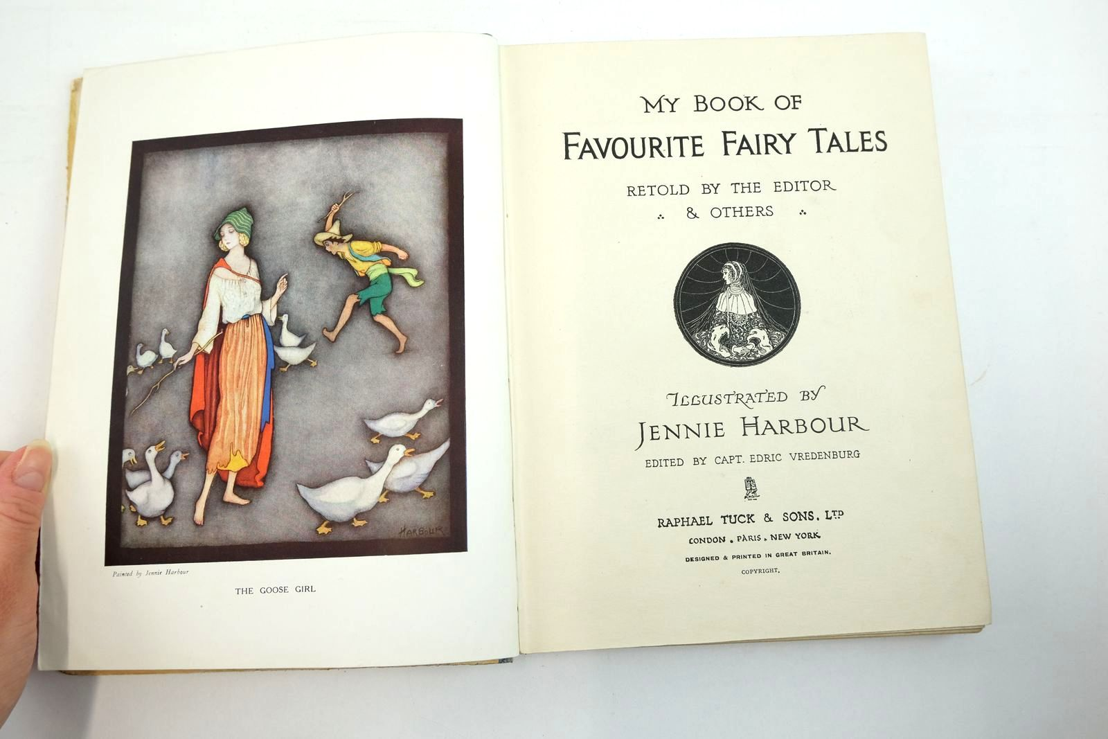 Photo of MY BOOK OF FAVOURITE FAIRY TALES written by Vredenburg, Edric illustrated by Harbour, Jennie published by Raphael Tuck & Sons Ltd. (STOCK CODE: 2134783)  for sale by Stella & Rose's Books