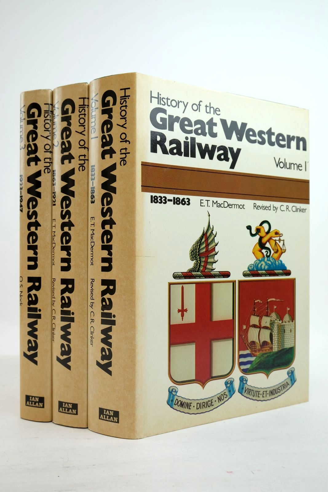 History of The Great Western Railway (3 Volumes)