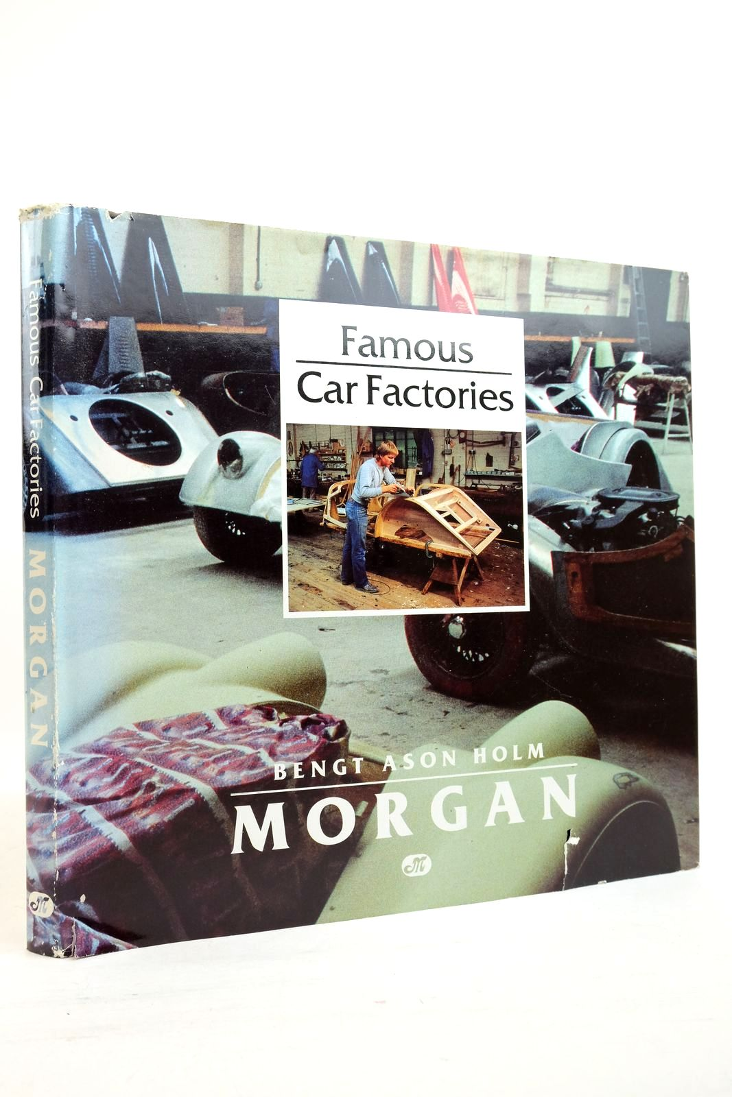 Photo of FAMOUS CAR FACTORIES: MORGAN written by Holm, Bengt Ason published by Motorbooks International (STOCK CODE: 2134863)  for sale by Stella & Rose's Books
