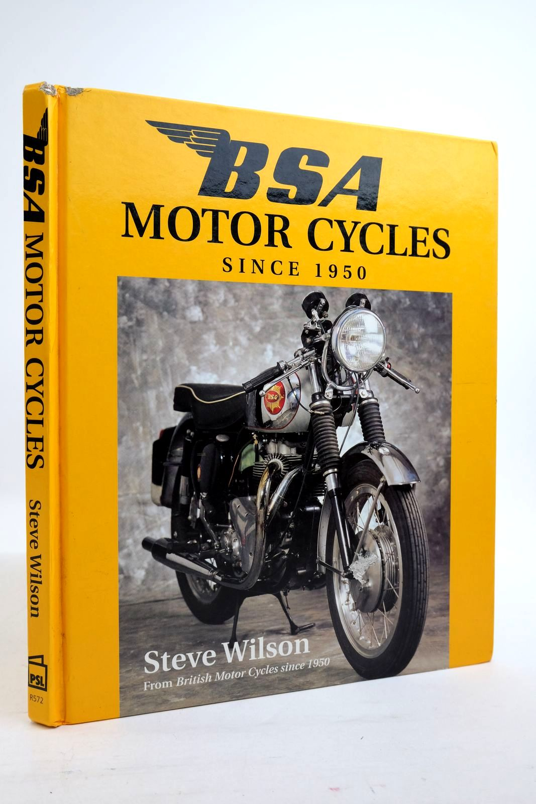 Photo of BSA MOTORCYCLES SINCE 1950 written by Wilson, Steve published by Patrick Stephens Limited (STOCK CODE: 2134889)  for sale by Stella & Rose's Books