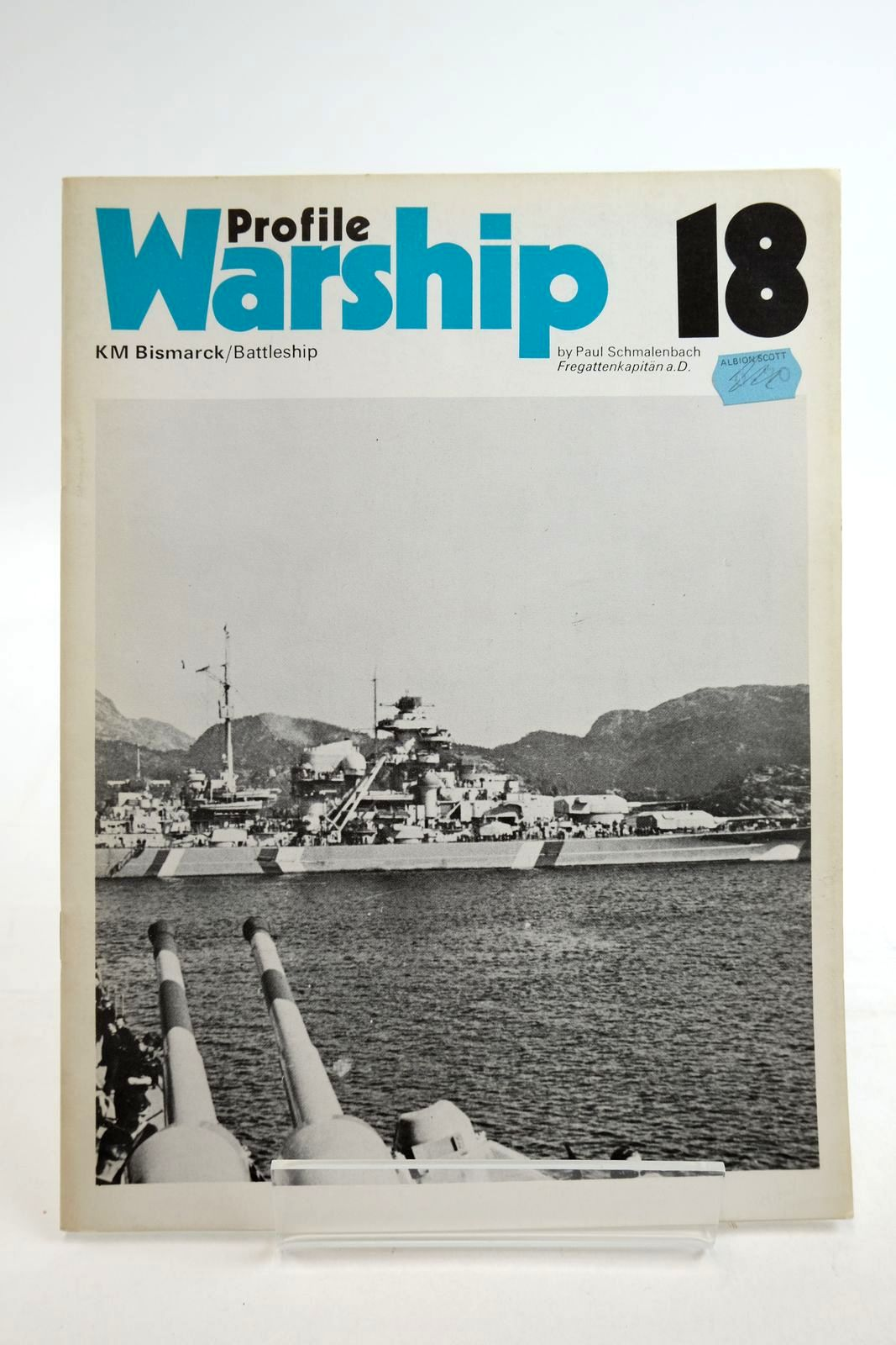 Photo of PROFILE WARSHIP 18: KM BISMARCK/BATTLESHIP written by Schmalenbach, Paul published by Profile Publications (STOCK CODE: 2134908)  for sale by Stella & Rose's Books