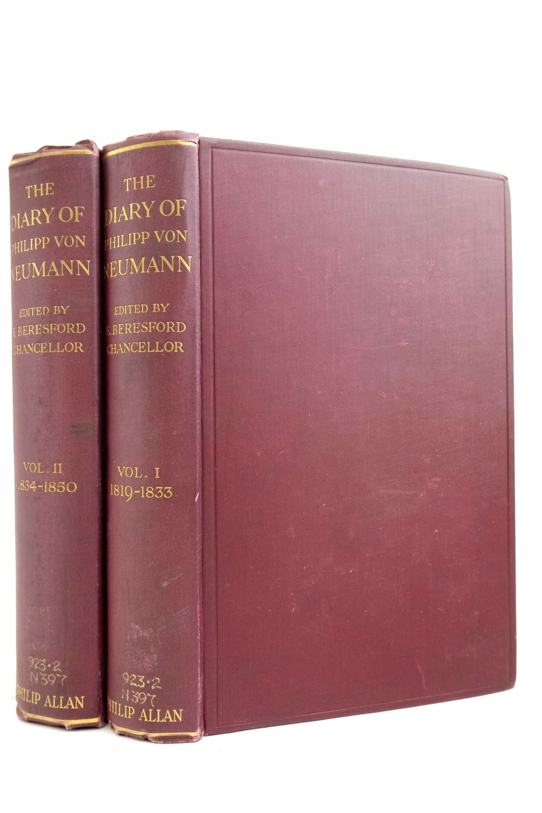 Photo of THE DIARY OF PHILIPP VON NEUMANN 1819 TO 1850 (2 VOLUMES)- Stock Number: 2134954