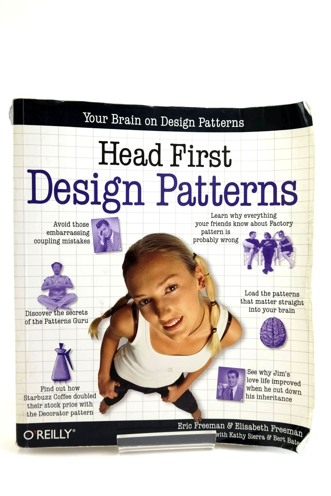 Photo of HEAD FIRST: DESIGN PATTERSN- Stock Number: 2135006