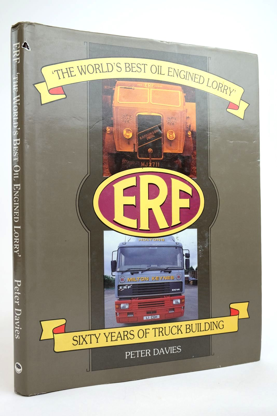 Photo of ERF 'THE WORLD'S BEST OIL ENGINED LORRY' written by Davies, Peter published by Roundoak Publishing (STOCK CODE: 2135025)  for sale by Stella & Rose's Books