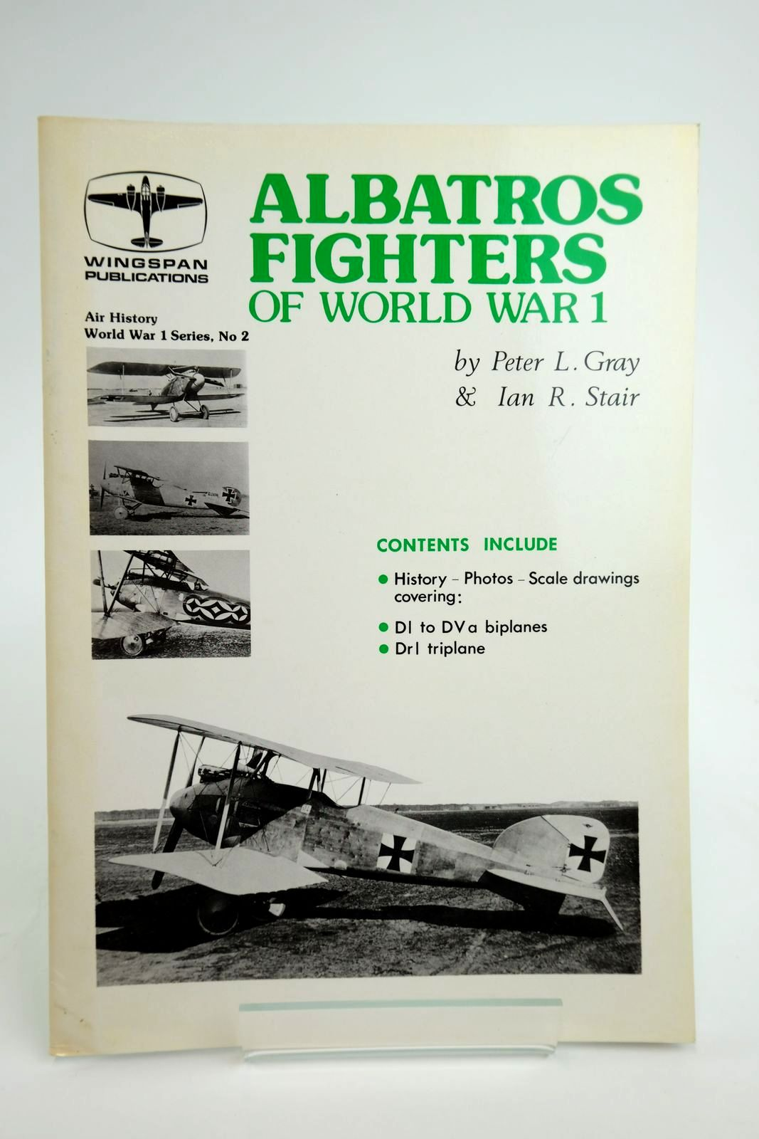 Photo of ALBATROS FIGHTERS OF WORLD WAR 1 written by Gray, Peter L. Stair, Ian R. published by Vintage Aviation Publications Ltd. (STOCK CODE: 2135031)  for sale by Stella & Rose's Books