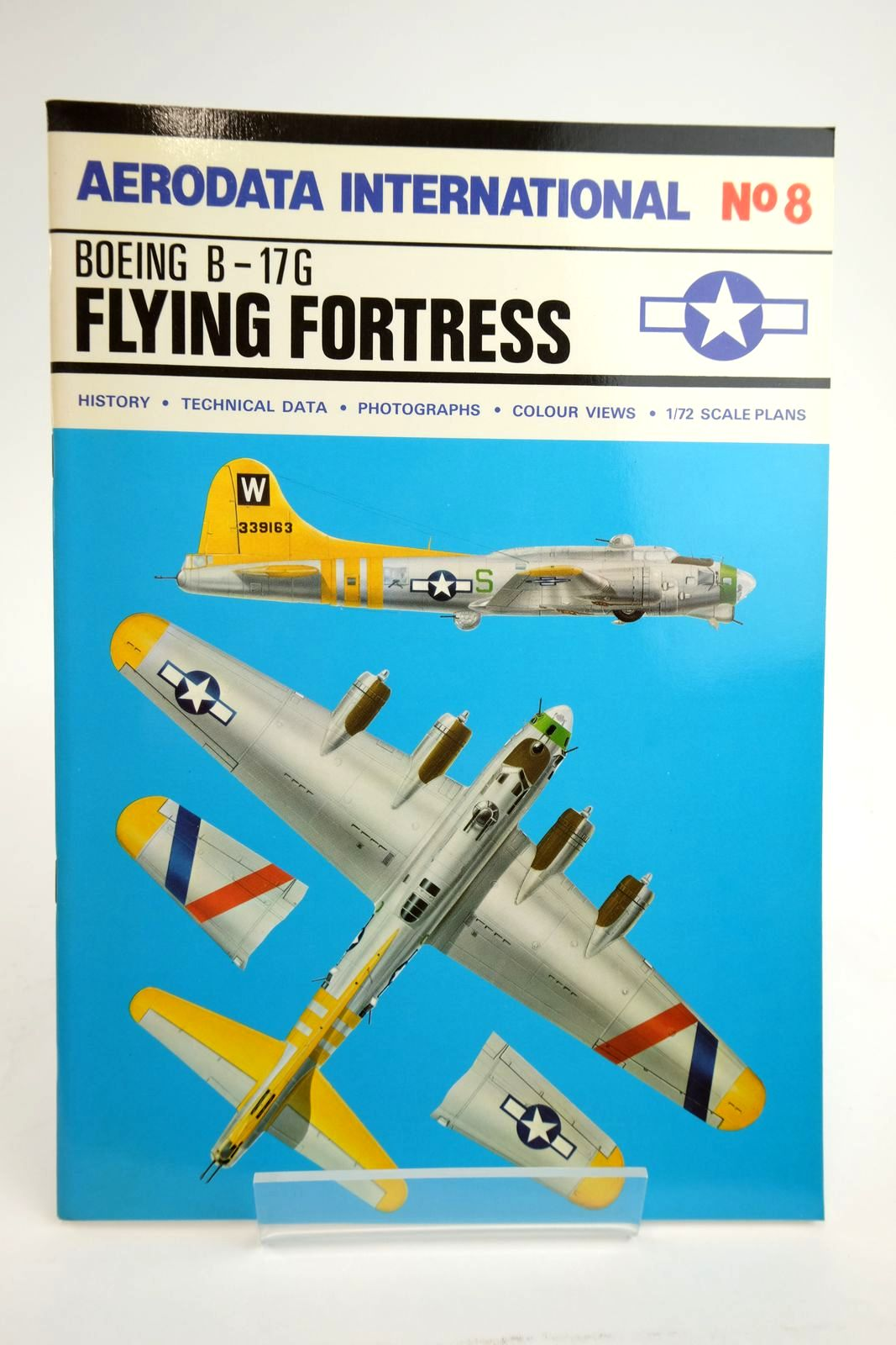 Photo of AERODATA INTERNATIONAL No. 8: BOEING B-17G FLYING FORTRESS written by Moyes, Philip J.R. published by Vintage Aviation Publications Ltd. (STOCK CODE: 2135036)  for sale by Stella & Rose's Books