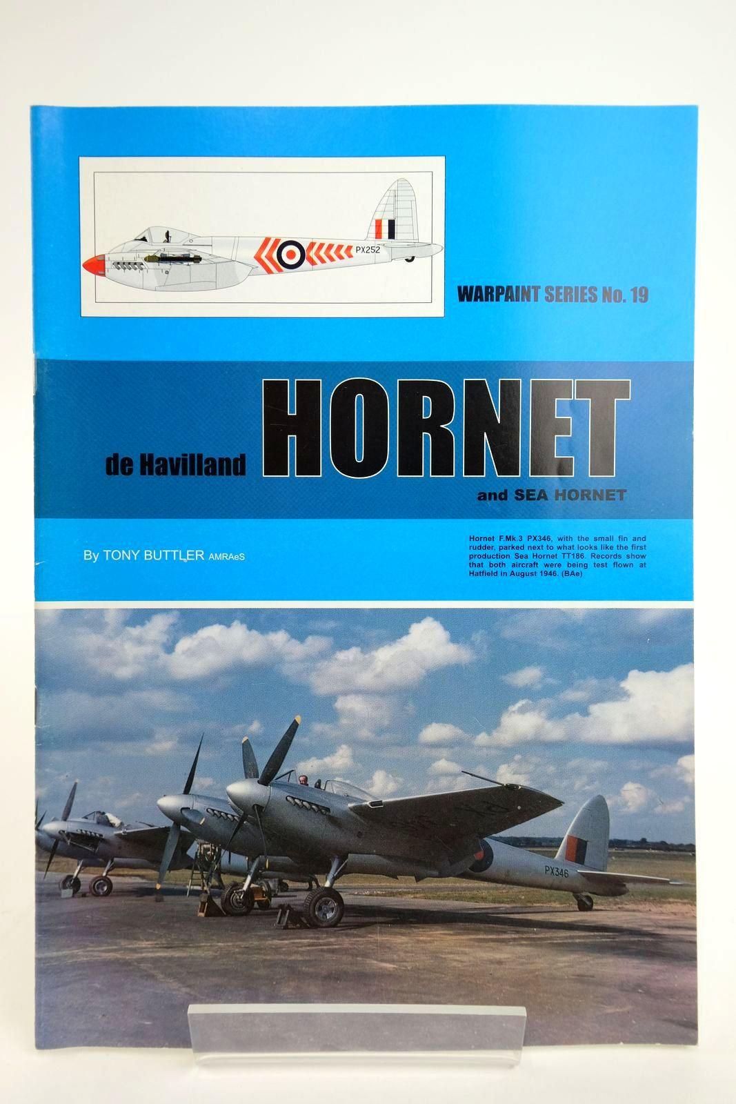 Photo of DE HAVILLAND HORNET AND SEA HORNET written by Buttler, Tony published by Hall Park Books Ltd. (STOCK CODE: 2135043)  for sale by Stella & Rose's Books