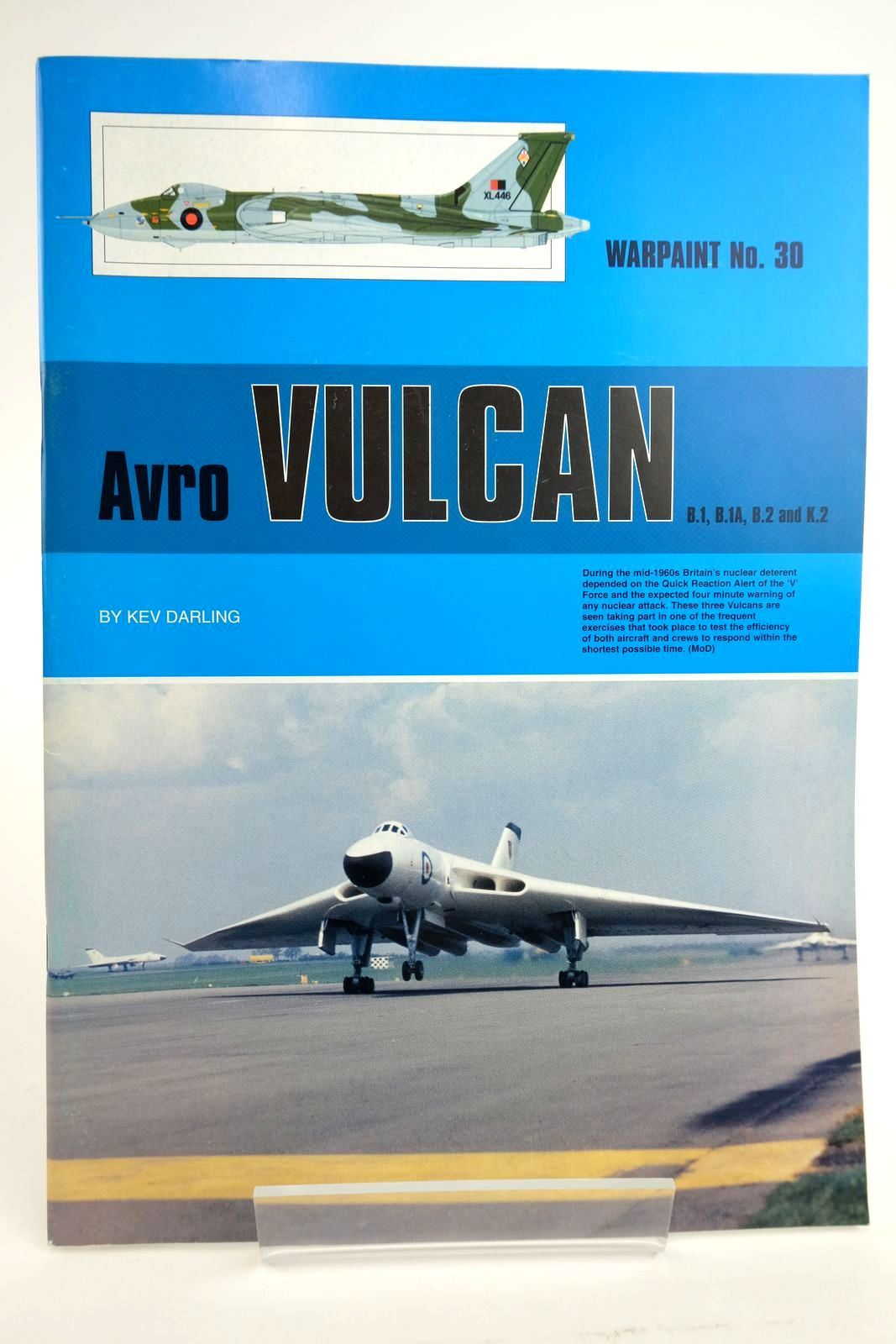 Photo of AVRO VULCAN B.1, B.1A, B.2 AND K.2 written by Darling, Kev published by Hall Park Books Ltd. (STOCK CODE: 2135048)  for sale by Stella & Rose's Books