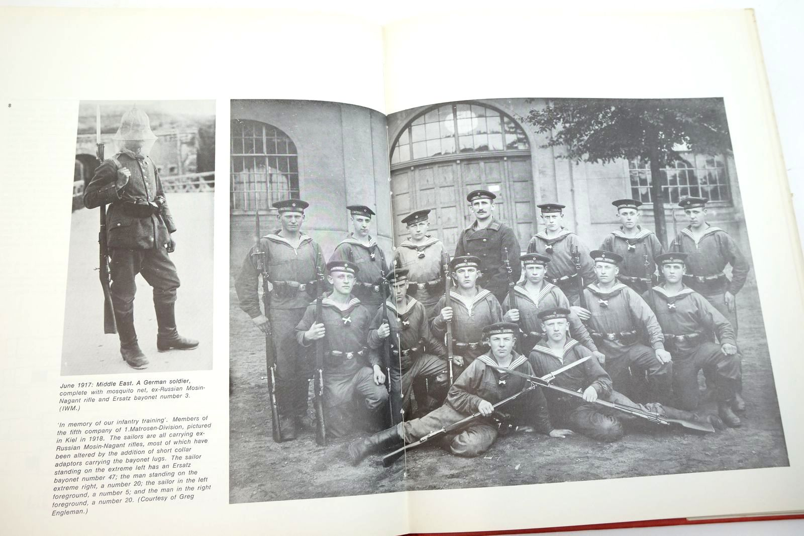 Photo of GERMAN ERSATZ BAYONETS. 1 written by Carter, Anthony published by The Lyon Press (STOCK CODE: 2135065)  for sale by Stella & Rose's Books