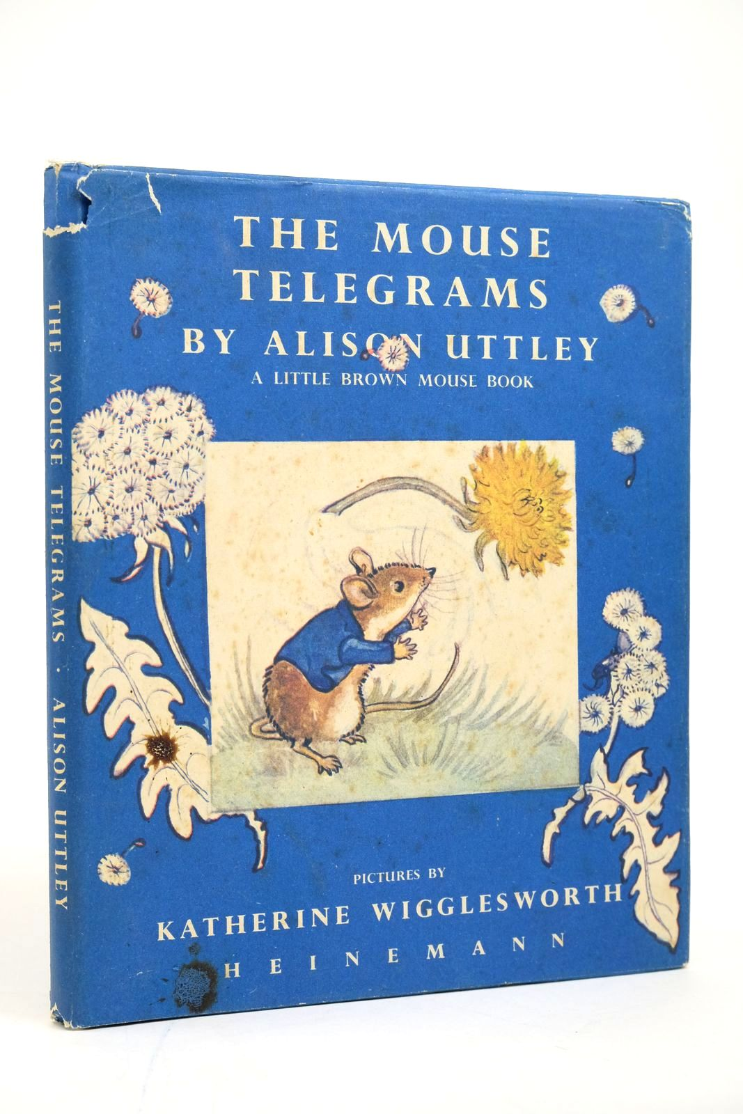 Photo of THE MOUSE TELEGRAMS written by Uttley, Alison illustrated by Wigglesworth, Katherine published by Heinemann (STOCK CODE: 2135084)  for sale by Stella & Rose's Books