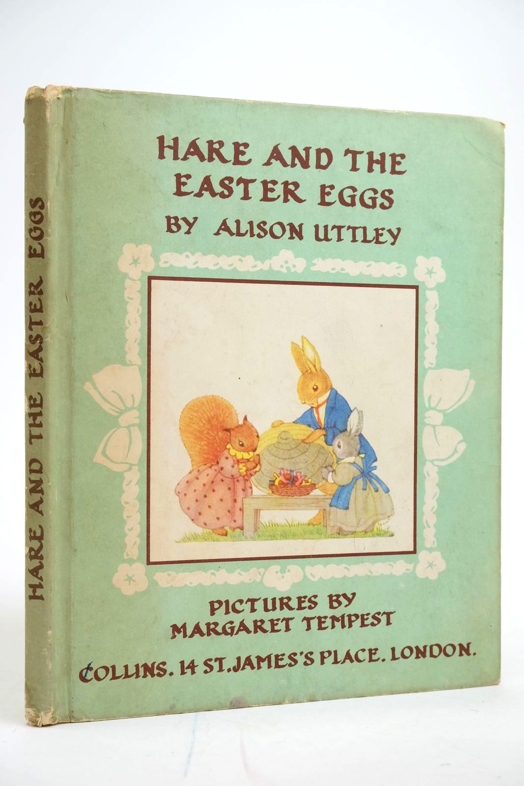 Photo of HARE AND THE EASTER EGGS written by Uttley, Alison illustrated by Tempest, Margaret published by Collins (STOCK CODE: 2135085)  for sale by Stella & Rose's Books