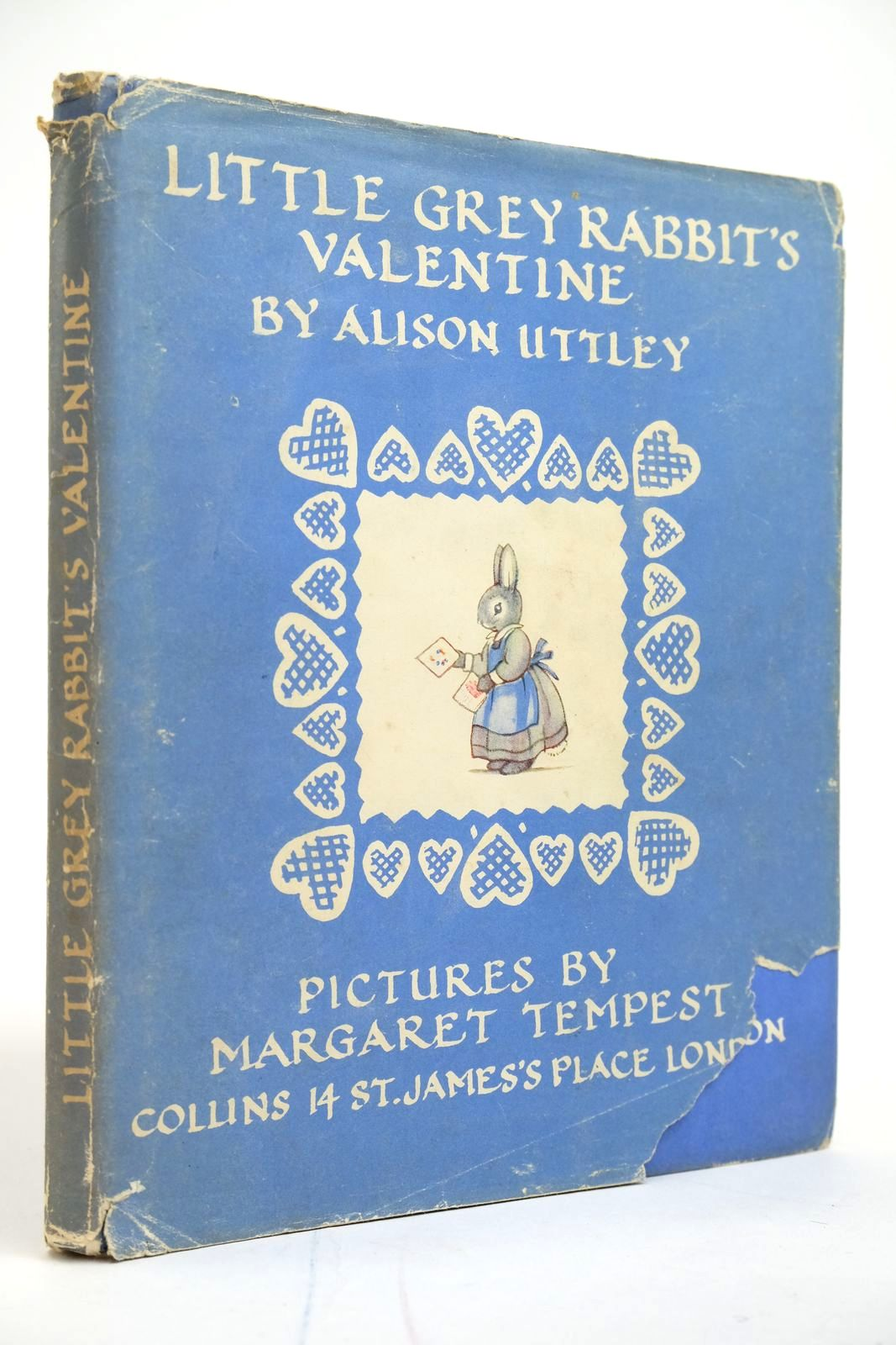 Photo of LITTLE GREY RABBIT'S VALENTINE written by Uttley, Alison illustrated by Tempest, Margaret published by Collins (STOCK CODE: 2135087)  for sale by Stella & Rose's Books