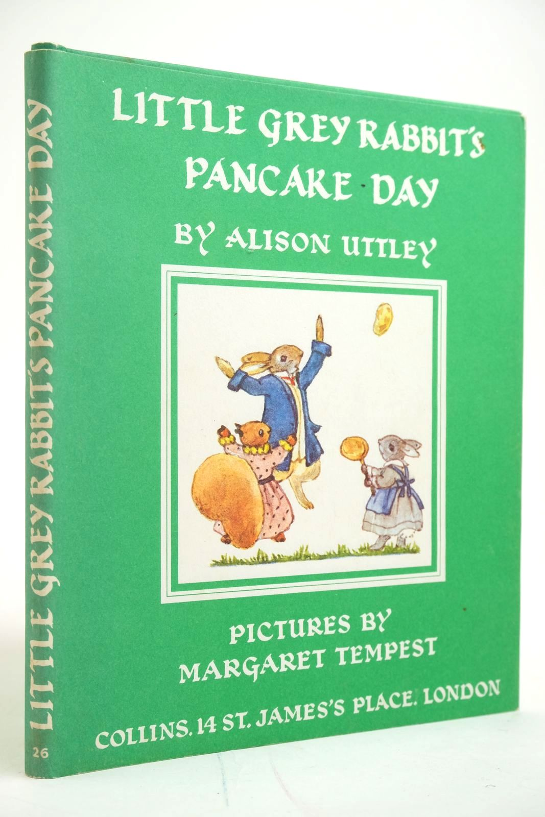 Photo of LITTLE GREY RABBIT'S PANCAKE DAY written by Uttley, Alison illustrated by Tempest, Margaret published by Collins (STOCK CODE: 2135089)  for sale by Stella & Rose's Books