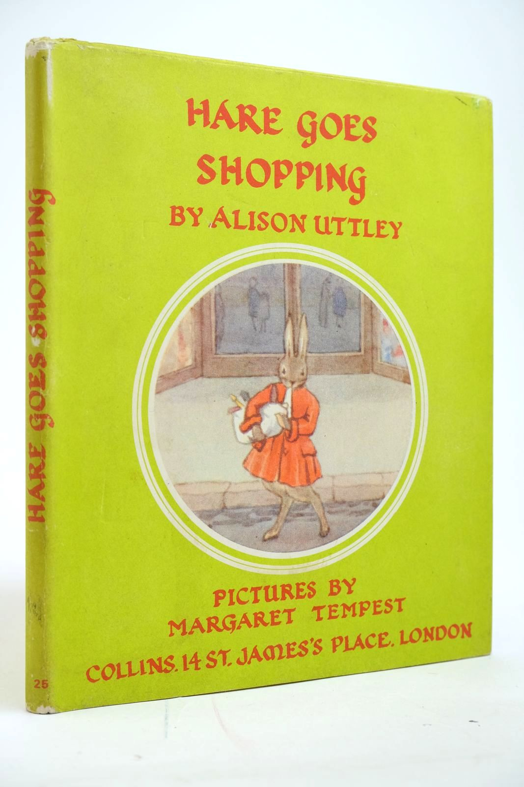 Photo of HARE GOES SHOPPING written by Uttley, Alison illustrated by Tempest, Margaret published by Collins (STOCK CODE: 2135094)  for sale by Stella & Rose's Books