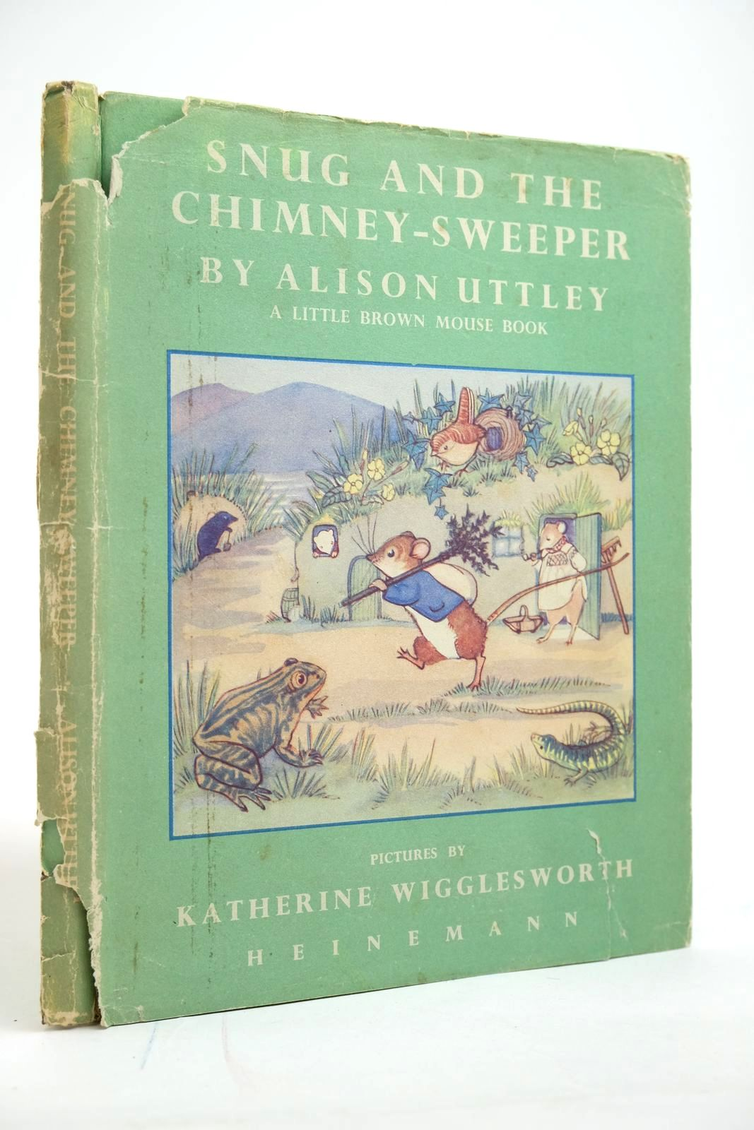 Photo of SNUG AND THE CHIMNEY-SWEEPER written by Uttley, Alison illustrated by Wigglesworth, Katherine published by Heinemann (STOCK CODE: 2135095)  for sale by Stella & Rose's Books