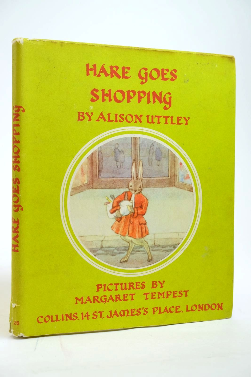Photo of HARE GOES SHOPPING written by Uttley, Alison illustrated by Tempest, Margaret published by Collins (STOCK CODE: 2135097)  for sale by Stella & Rose's Books