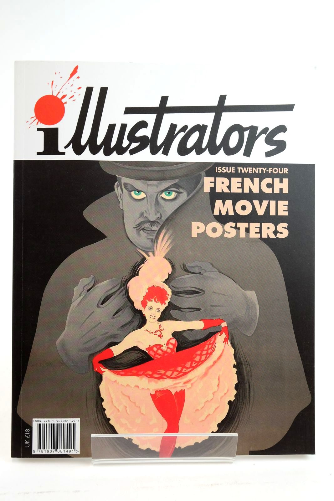 Photo of ILLUSTRATORS ISSUE TWENTY-FOUR FRENCH MOVIE POSTERS- Stock Number: 2135115