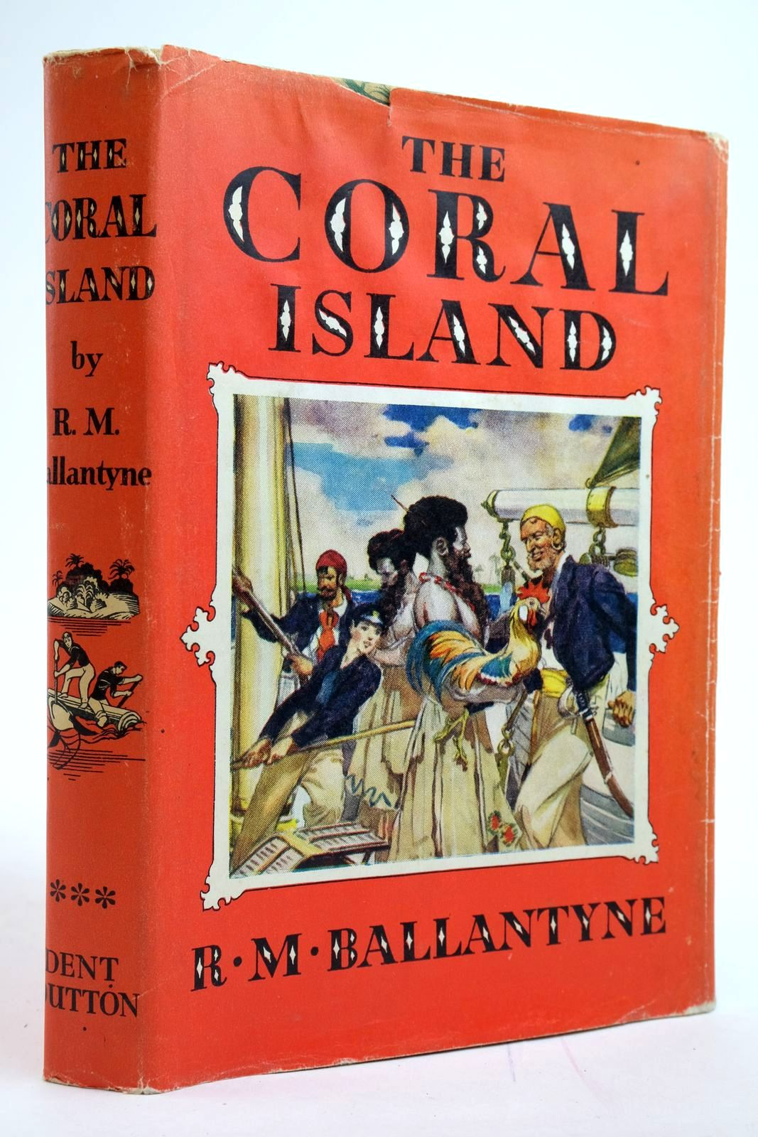 Photo of THE CORAL ISLAND written by Ballantyne, R.M. illustrated by Bates, Leo published by J.M. Dent & Sons Ltd. (STOCK CODE: 2135124)  for sale by Stella & Rose's Books