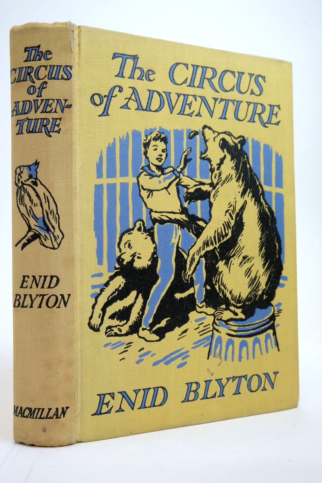 Photo of THE CIRCUS OF ADVENTURE written by Blyton, Enid illustrated by Tresilian, Stuart published by Macmillan & Co. Ltd. (STOCK CODE: 2135167)  for sale by Stella & Rose's Books