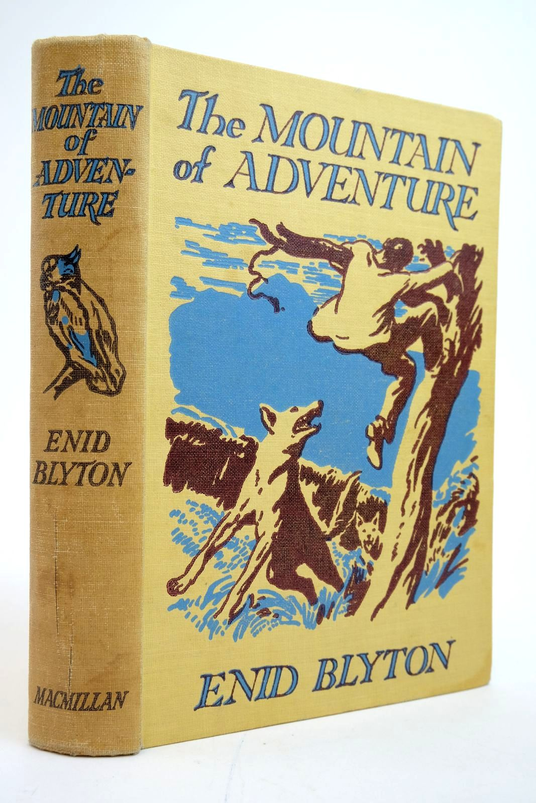Photo of THE MOUNTAIN OF ADVENTURE written by Blyton, Enid illustrated by Tresilian, Stuart published by Macmillan & Co. Ltd. (STOCK CODE: 2135172)  for sale by Stella & Rose's Books