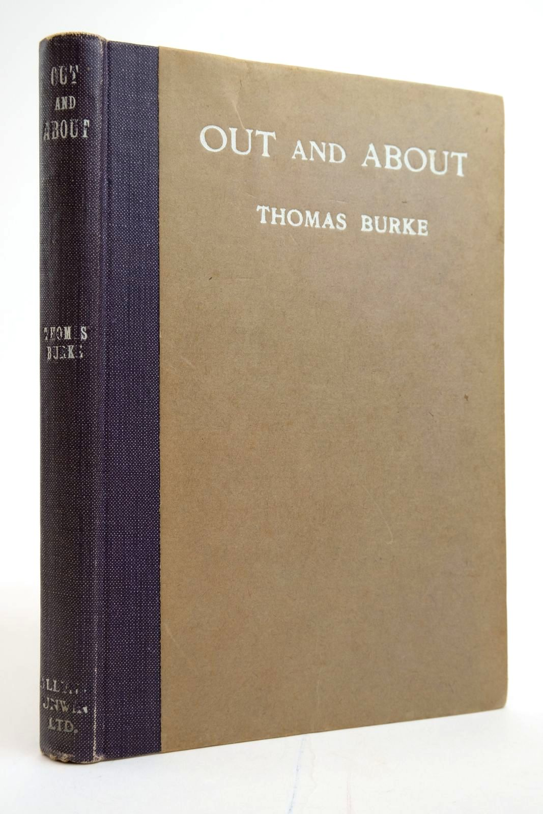 Photo of OUT AND ABOUT A NOTE-BOOK OF LONDON IN WAR-TIME written by Burke, Thomas published by George Allen & Unwin Ltd. (STOCK CODE: 2135183)  for sale by Stella & Rose's Books