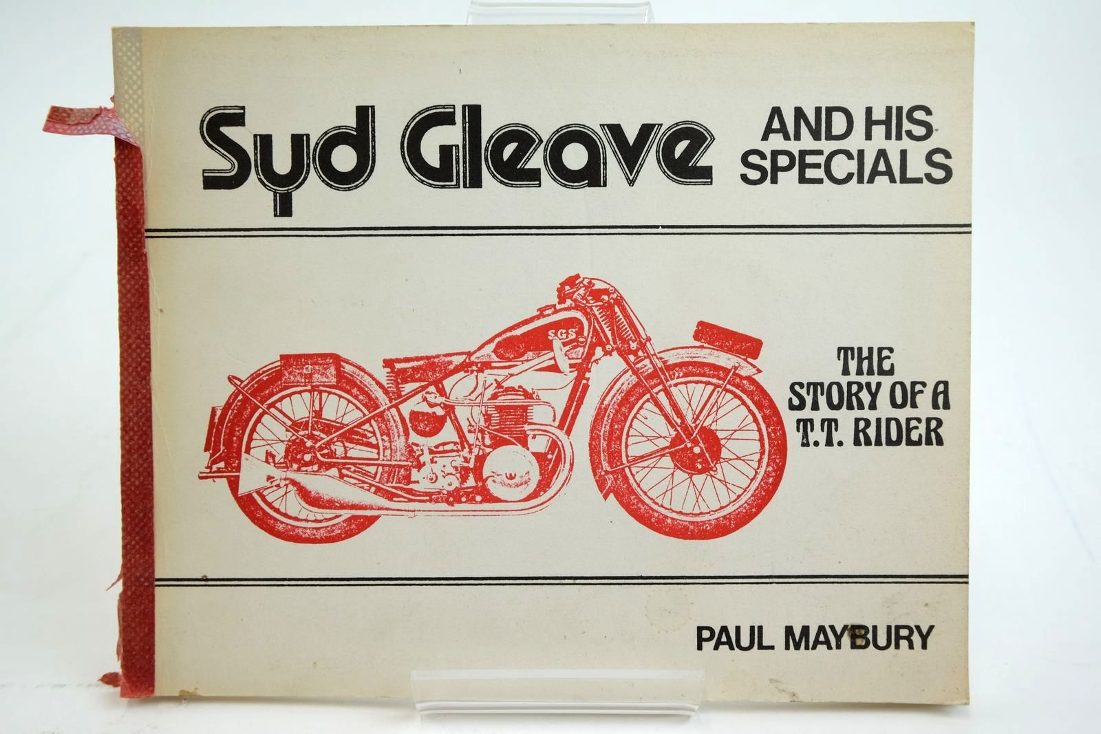 Photo of SYD GLEAVE AND HIS SPECIALS THE STORY OF A T.T. RIDER- Stock Number: 2135202