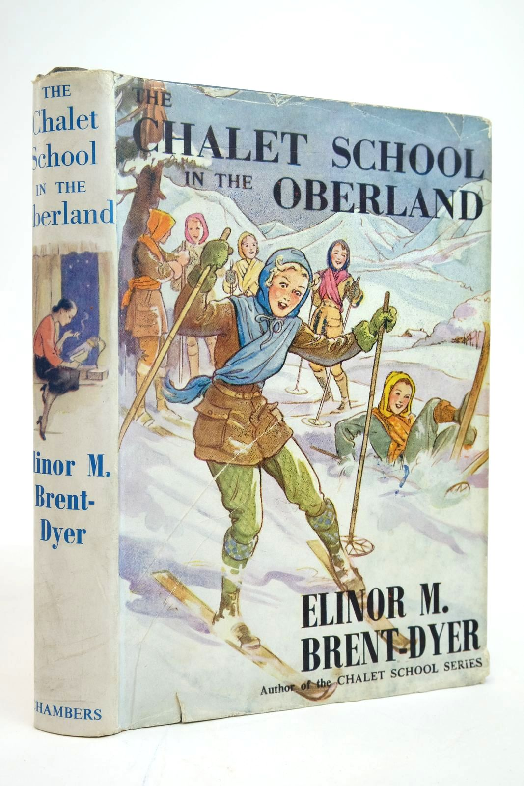 Photo of THE CHALET SCHOOL IN THE OBERLAND written by Brent-Dyer, Elinor M. illustrated by Brisley, Nina K. published by W. & R. Chambers Limited (STOCK CODE: 2135219)  for sale by Stella & Rose's Books