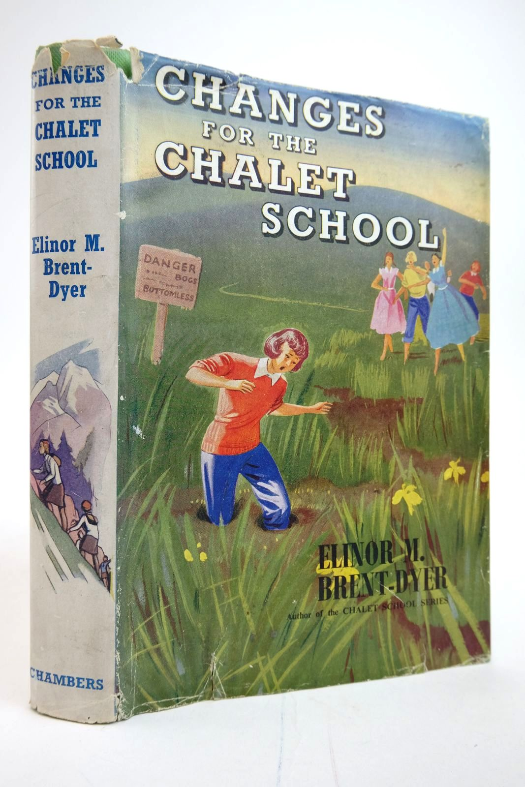 Photo of CHANGES FOR THE CHALET SCHOOL written by Brent-Dyer, Elinor M. published by W. & R. Chambers Limited (STOCK CODE: 2135220)  for sale by Stella & Rose's Books