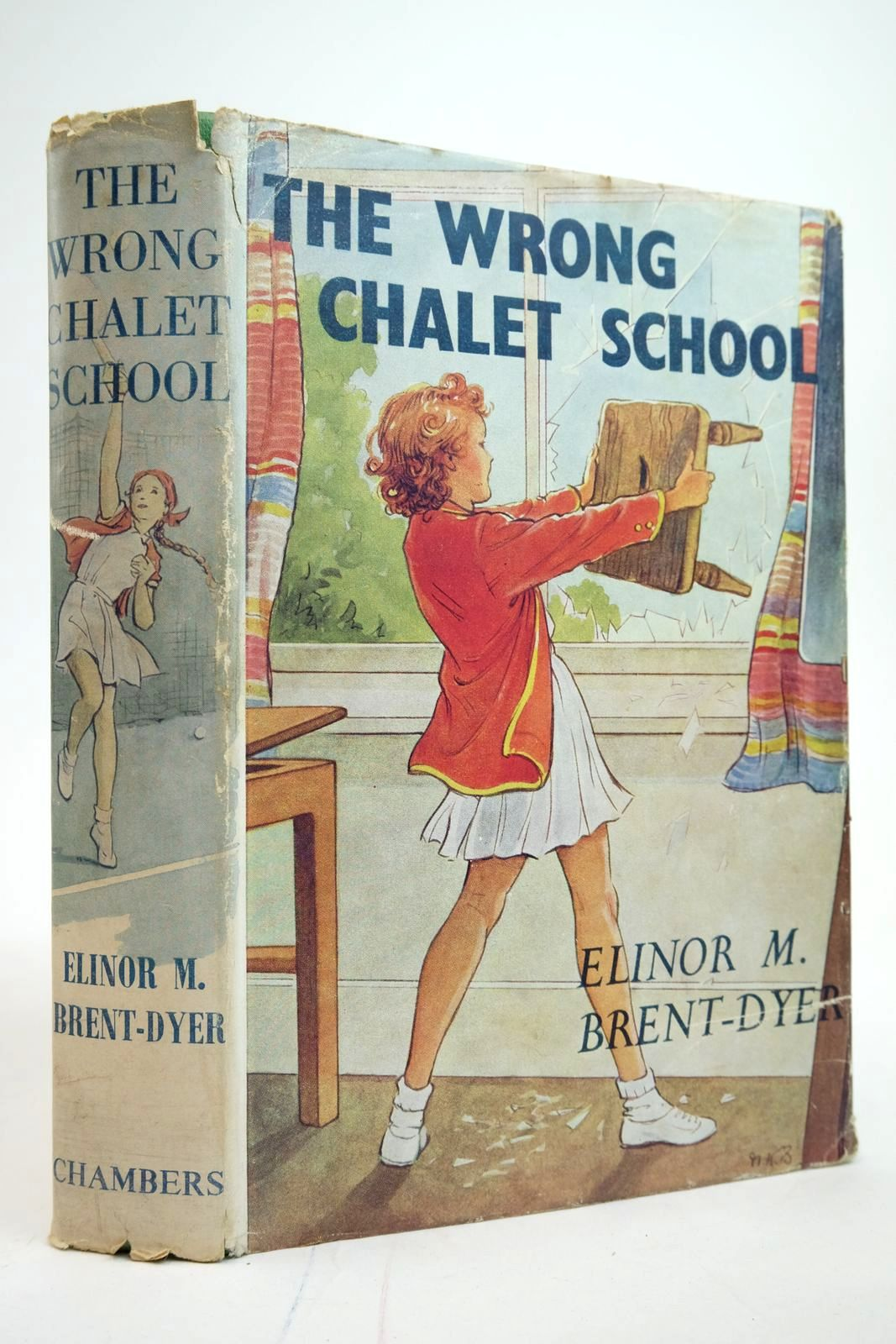Photo of THE WRONG CHALET SCHOOL written by Brent-Dyer, Elinor M. illustrated by Brisley, Nina K. published by W. & R. Chambers Limited (STOCK CODE: 2135224)  for sale by Stella & Rose's Books