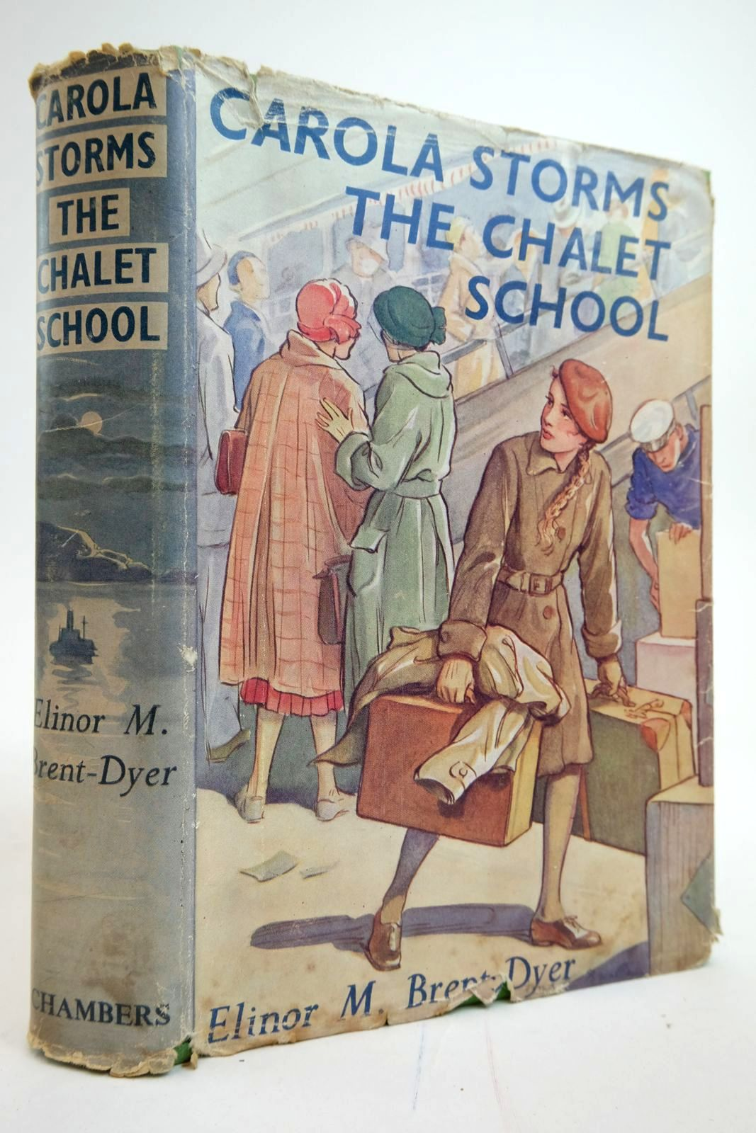Photo of CAROLA STORMS THE CHALET SCHOOL written by Brent-Dyer, Elinor M. published by W. & R. Chambers Limited (STOCK CODE: 2135225)  for sale by Stella & Rose's Books