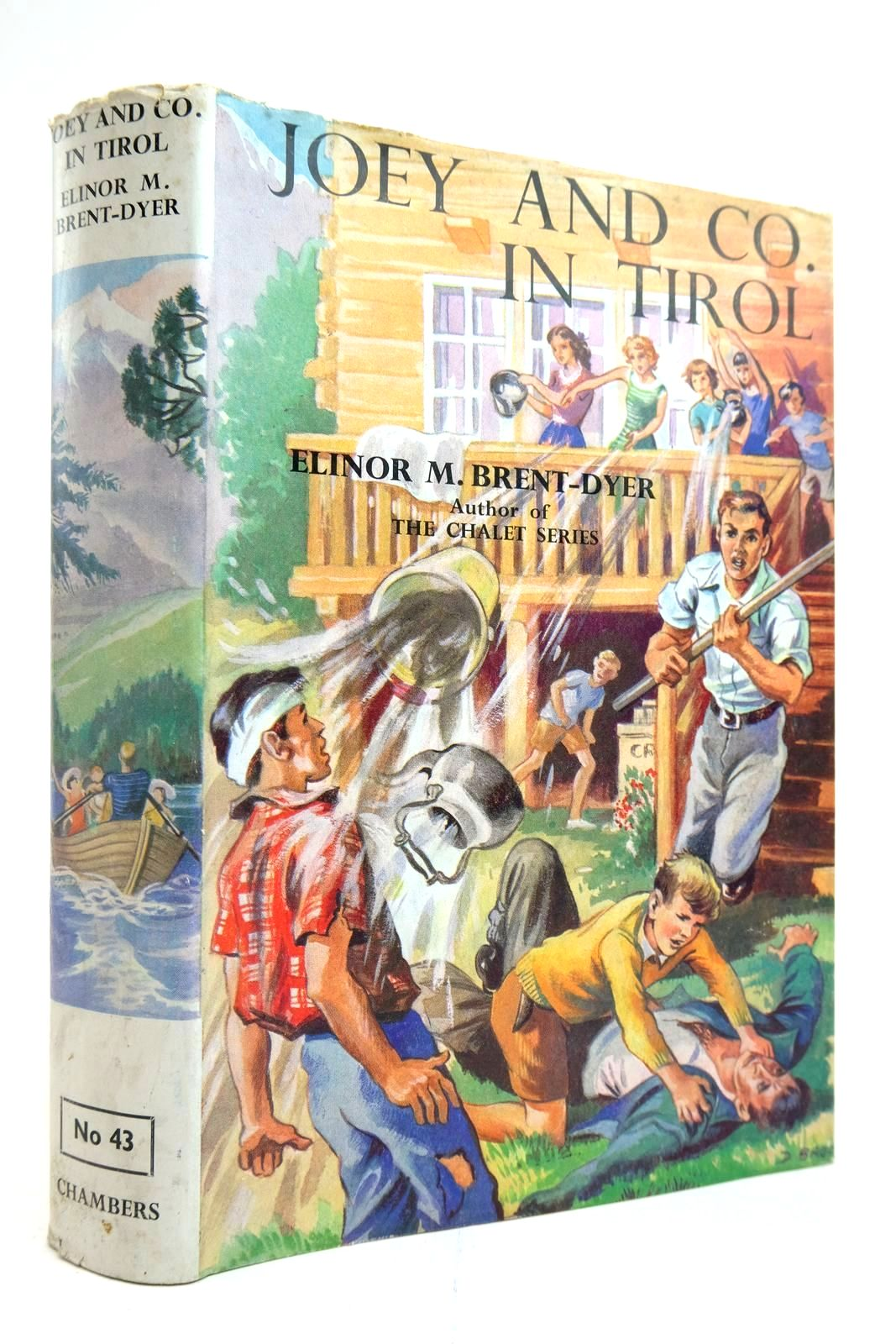 Photo of JOEY AND CO. IN TIROL written by Brent-Dyer, Elinor M. illustrated by Brook, D. published by W. & R. Chambers Limited (STOCK CODE: 2135231)  for sale by Stella & Rose's Books