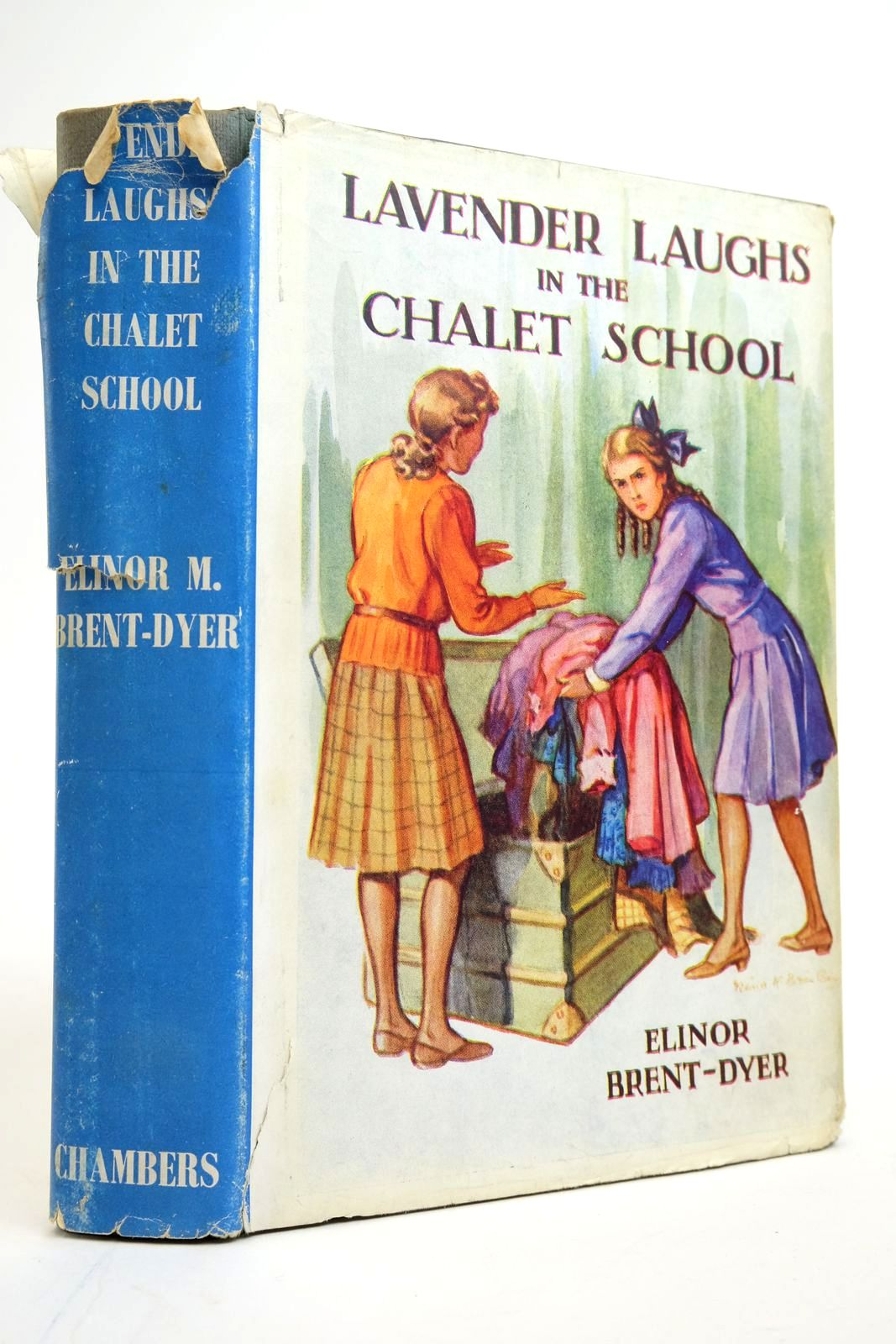 Photo of LAVENDER LAUGHS IN THE CHALET SCHOOL written by Brent-Dyer, Elinor M. published by W. & R. Chambers Limited (STOCK CODE: 2135234)  for sale by Stella & Rose's Books