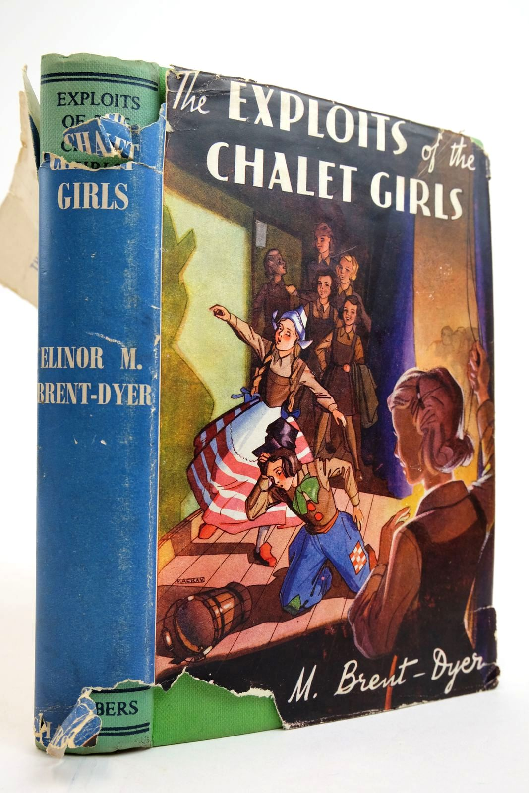Photo of THE EXPLOITS OF THE CHALET GIRLS- Stock Number: 2135241