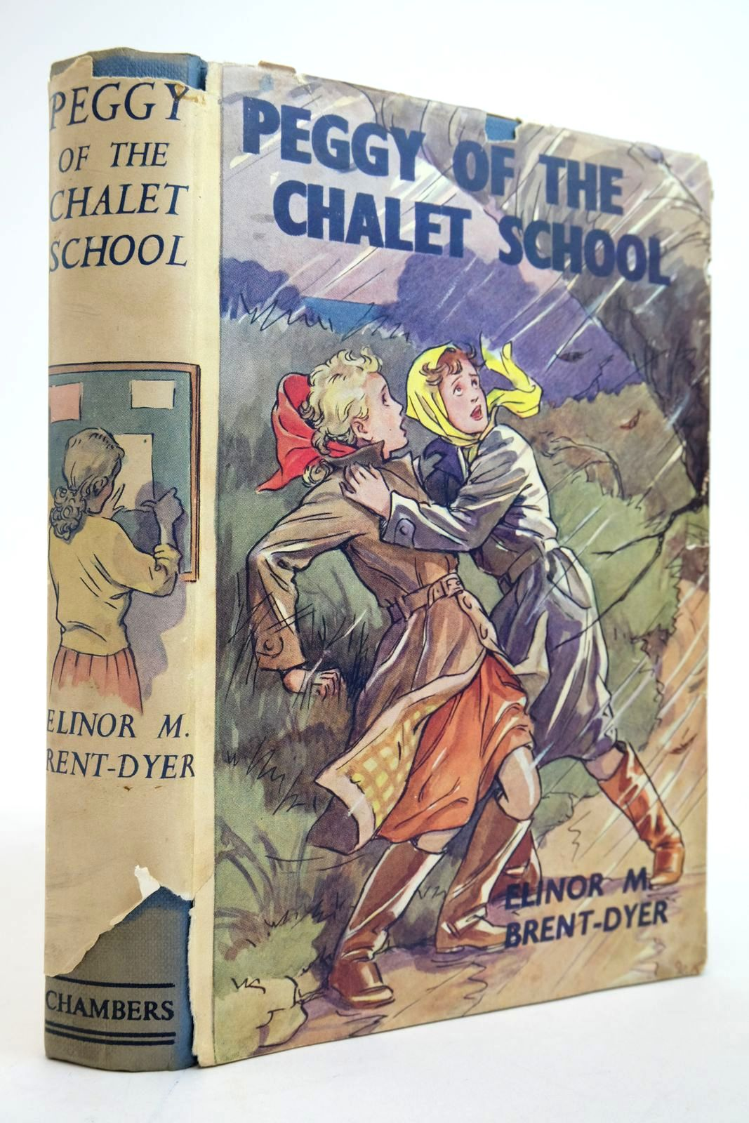Photo of PEGGY OF THE CHALET SCHOOL written by Brent-Dyer, Elinor M. illustrated by Brisley, Nina K. published by W. & R. Chambers Limited (STOCK CODE: 2135243)  for sale by Stella & Rose's Books