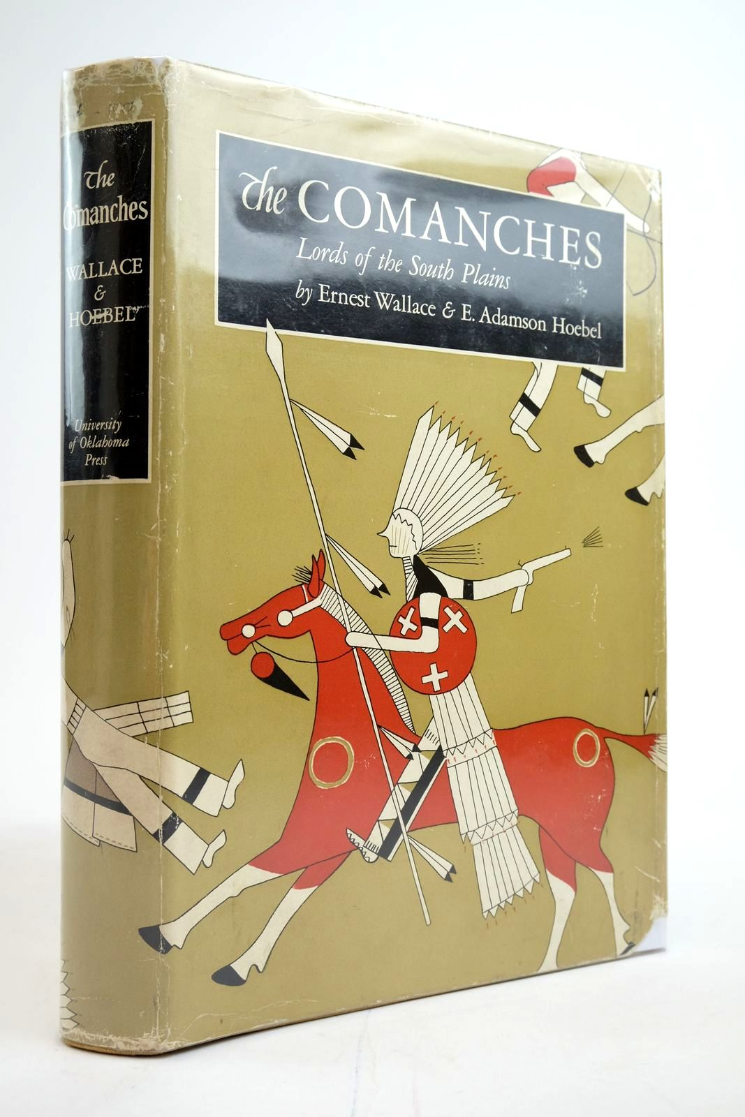 Photo of THE COMANCHES LORDS OF THE SOUTH PLAINS written by Wallace, Ernest Hoebel, E. Adamson published by University of Oklahoma Press (STOCK CODE: 2135262)  for sale by Stella & Rose's Books