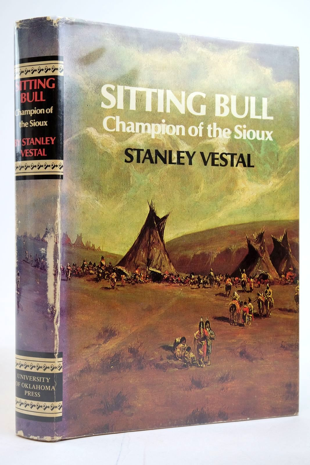 Photo of SITTING BULL: CHAMPION OF THE SIOUX written by Vestal, Stanley published by University of Oklahoma Press (STOCK CODE: 2135267)  for sale by Stella & Rose's Books
