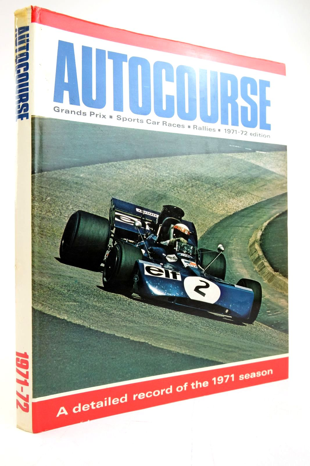 Photo of AUTOCOURSE 1971-72 written by Phipps, David published by Haymarket Publishing Limited (STOCK CODE: 2135300)  for sale by Stella & Rose's Books