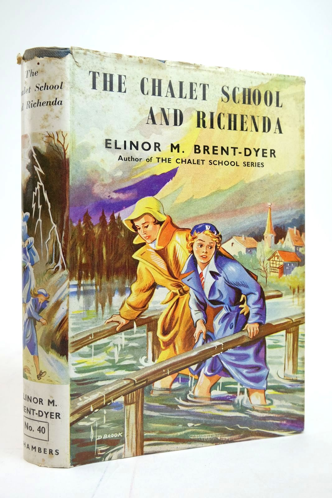 Photo of THE CHALET SCHOOL AND RICHENDA written by Brent-Dyer, Elinor M. illustrated by Brook, D. published by W. & R. Chambers Limited (STOCK CODE: 2135304)  for sale by Stella & Rose's Books