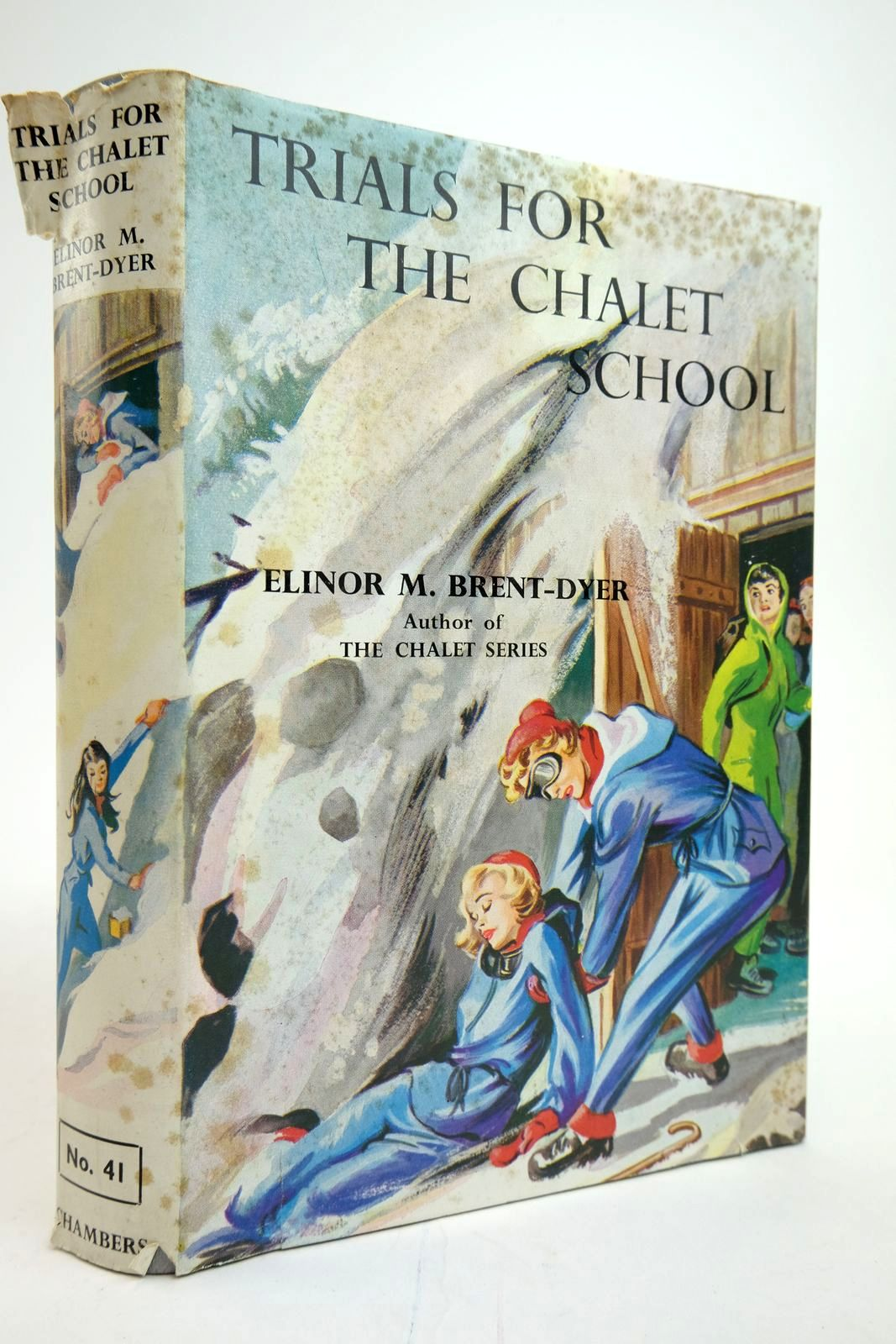Photo of TRIALS FOR THE CHALET SCHOOL written by Brent-Dyer, Elinor M. illustrated by Brook, D. published by W. & R. Chambers Limited (STOCK CODE: 2135305)  for sale by Stella & Rose's Books