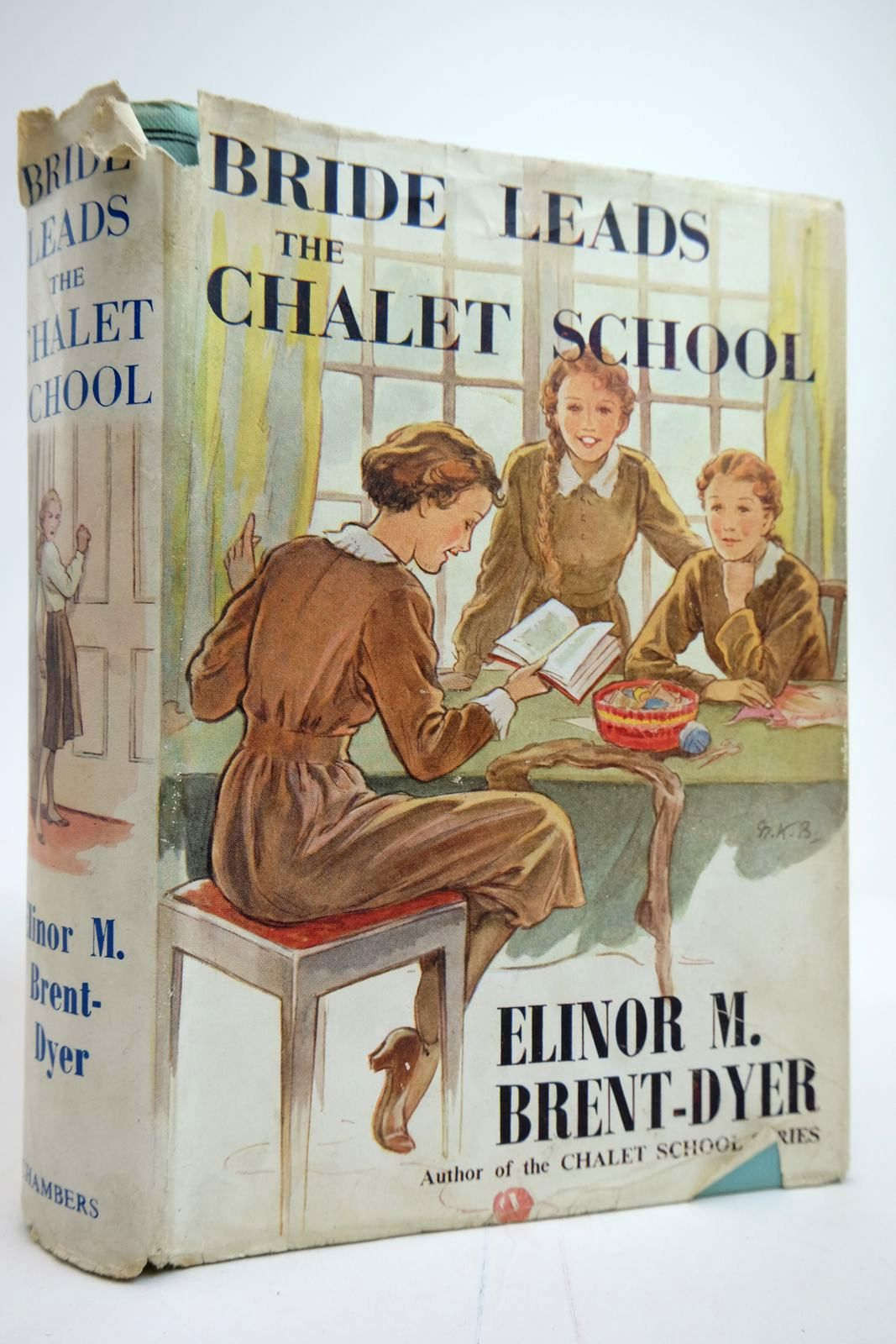 Photo of BRIDE LEADS THE CHALET SCHOOL written by Brent-Dyer, Elinor M. illustrated by Brisley, Nina K. published by W. & R. Chambers Limited (STOCK CODE: 2135313)  for sale by Stella & Rose's Books