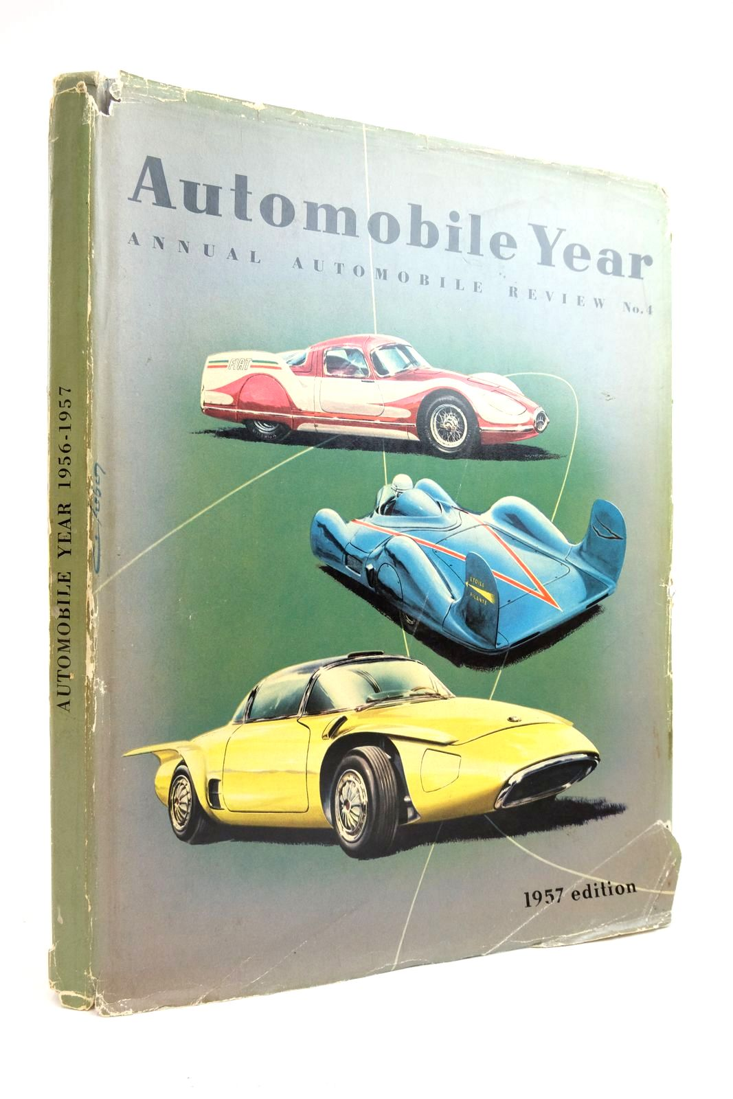 Photo of AUTOMOBILE YEAR 1956-1957 ANNUAL AUTOMOBILE REVIEW No. 4- Stock Number: 2135375