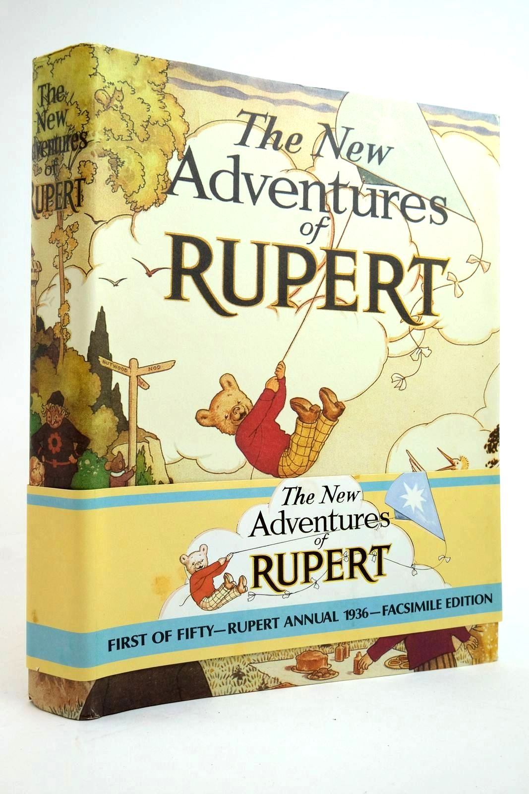 Photo of RUPERT ANNUAL 1936 (FACSIMILE) - THE NEW ADVENTURES OF RUPERT- Stock Number: 2135417
