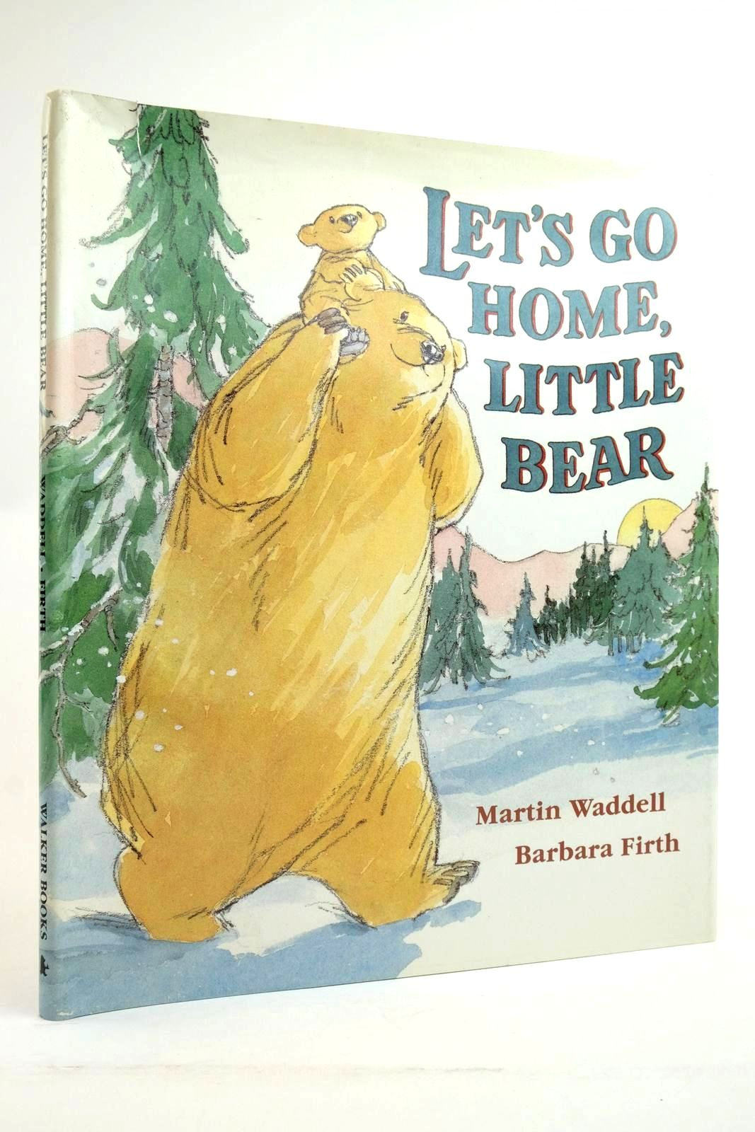 Photo of LET'S GO HOME, LITTLE BEAR written by Waddell, Martin illustrated by Firth, Barbara published by Walker Books (STOCK CODE: 2135553)  for sale by Stella & Rose's Books