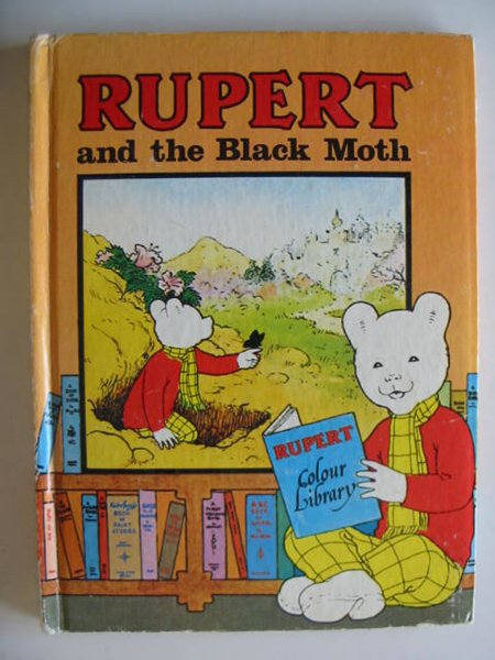 Photo of RUPERT AND THE BLACK MOTH written by Bestall, Alfred illustrated by Harrold, John published by Purnell (STOCK CODE: 216865)  for sale by Stella & Rose's Books