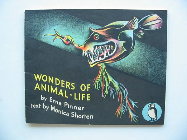 Photo of WONDERS OF ANIMAL LIFE written by Shorten, Monica illustrated by Pinner, Erna published by Penguin (STOCK CODE: 223292)  for sale by Stella & Rose's Books