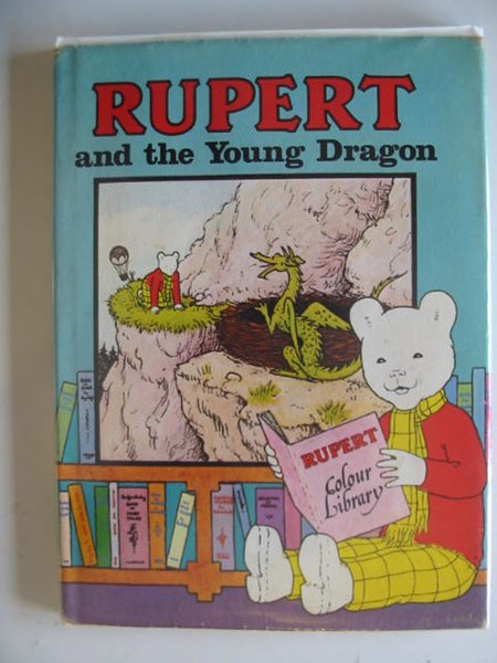 Photo of RUPERT AND THE YOUNG DRAGON written by Bestall, Alfred illustrated by Harrold, John published by Purnell (STOCK CODE: 229347)  for sale by Stella & Rose's Books