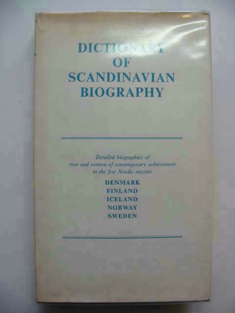 Photo of DICTIONARY OF SCANDINAVIAN BIOGRAPHY- Stock Number: 233000