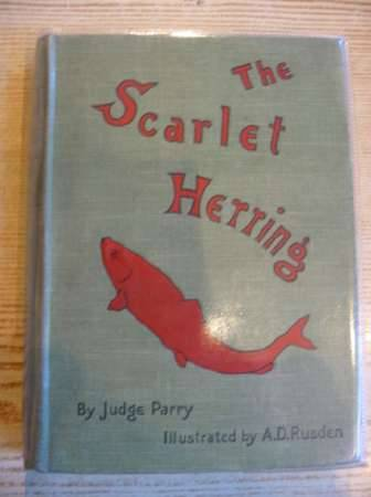 Photo of THE SCARLET HERRING written by Parry, Edward Abbott illustrated by Rusden, A. D. published by Smith, Elder & Co. (STOCK CODE: 311018)  for sale by Stella & Rose's Books
