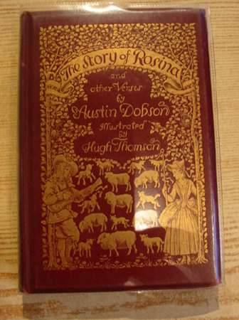 Photo of THE STORY OF ROSINA & OTHER VERSES written by Dobson, Austin illustrated by Thomson, Hugh published by Kegan Paul, Trench, Trubner & Co. (STOCK CODE: 317346)  for sale by Stella & Rose's Books